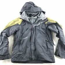 Ride Snowboards Mens Jacket Coat Grey & Green Mountain Series Small S Snow Ski