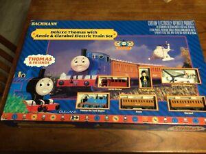 Bachmann HO Scale Deluxe Thomas & Friends Annie & Clarabel Train Set #00644 NR