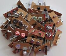 Wholesale lot of 50 Pairs of Assorted Small Stud Earrings New