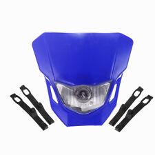 Off Road Dirt Bike Motocross Headlight Lamp Blue For Yamaha TTR250 TTR230 WR250F