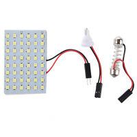 5x 48 weiß SMD LED Panel 12V + T10/BA9S Sockel + Soffitte Modul 29-42mm