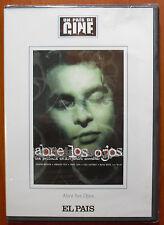 Abre los ojos [DVD] EL PAÍS A. Almenábar, Eduardo Noriega, Penélope Cruz ¡NUEVO!