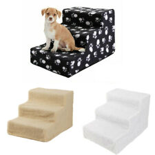 Pet Stairs 3 Steps Soft Portable Cat Dog Animal Step Ramp Ladder Small Climb
