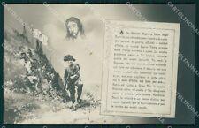 WWI Propaganda Militari Bersaglieri Foto cartolina QT5445