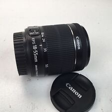 Canon EF-S 18-55mm f3.5-5.6 IS STM Lens Used EX+