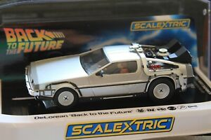 Scalextric DeLorean Back to the Future DPR 1/32 Slot Car #C4117 first edition
