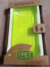 CASE-MATE RPET ULTRA SLIM TRANSPARENT BACK COVER - APPLE iPHONE 5 5S 5SE - GREEN