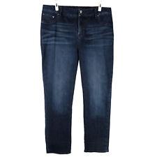 Lucky Brand Stretch Jeans 22W Emma Tummy Control Panel HIgh Rise Straight Leg