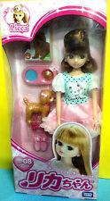 Takara Tomy Licca Doll Ld-08 Walking With Dog Brand New In Box Rare