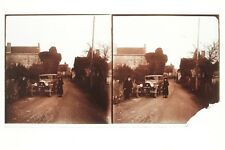Voiture ancienne Mode Photo Stereo Vintage 7x13 cm