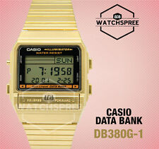 Casio Data Bank Watch DB380G-1D