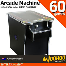 "Cocktail Arcade Machine 60 Games - Table Sit Down Style 19"" inch Screen"