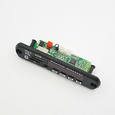 IK- Glitzy Bluetooth 12V MP3 WMA Decoder Board Audio Module TF USB Radio for Car