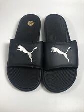 Puma Cool Cat Men's Slide Sandals Black Sz 12 New