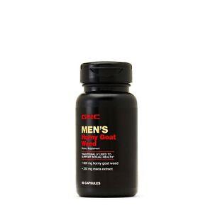 GNC MEN'S HORNY GOAT WEED 60 capsules