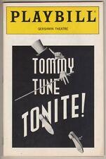 """Tommy Tune Tonite!""  1992   Playbill   Broadway"