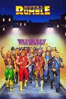 "Royal Rumble Poster 48x32"" 36x24"" 1991 Hulk Hogan Ted DiBiase WWF WWE Print Silk"