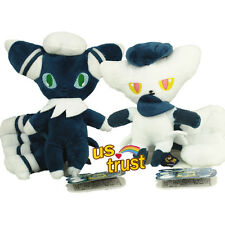 Pokemon Center 7inch Espurr Male & Female Meowstic Soft Plush Doll Stuffed 2pcs