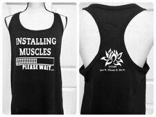 MED Women's Fitness Gym Racerback Tank Top- GYM, FITNESS, BODYBUILDING, WORKOUT