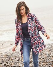 Joules Golightly Printed Waterproof Packaway Jacket - NAVY FLORAL