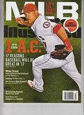 MIKE TROUT SPORTS ILLUSTRATED MAGAZINE 3-27-17 NO LABEL LA ANGELS 2017 PREVIEW