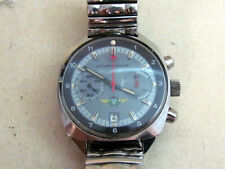POLJOT Poliot SHTURMANSKIE CHRONOGRAPH with STOP SEC Cal. 31659 USSR (Serviced)