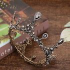 Baroque Wedding Bridal Full Queen Crown Pageant Tiara Crystal Headpiece Jewelry
