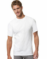 Hanes Men Undershirt 6-Pack FreshIQ X-Temp Crewneck Value Tag-free Wicking White