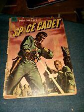 Tom Corbett, Space Cadet #7 dell comics 1954 golden age scifi ray gun cover