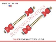 PAIR FRONT SWAY BAR LINKS CHEVY CAMARO FIREBIRD BUSHINGS MADE IN USA K6630