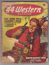 .44 Western April 1947 Pulp Wayne D Overholser Walker A Tompkins James Shaffer