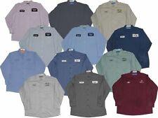 Used Mechanic Shirts - 12 Pc - Grade B Long or Short Sleeve -Free Shipping