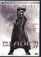 Blade II DVD, 2002, 2-Disc Set, Two Disc Set Super Hero Vampire Hunter