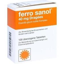 FERRO SANOL überzogene Tabletten 100 St PZN 3028737