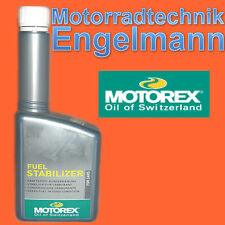 MOTOREX FUEL STABILIZER 0,125l, di carburante aggiuntivo, 95,12 EUR/L svernamento