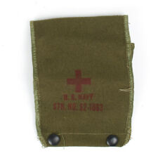 Original U.S. USN Naval Aviator First Aid Pouch as used in Korea & Vietnam