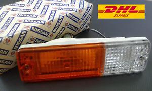 DATSUN 720 Pickup Front Bumper Corner Lights R/H GENUINE NOS  JAPAN