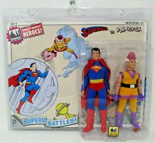 SUPERMAN & MR.MXYZPTLK ~ 2 pck DC 8in Action Figures ~ Figure Toy Co