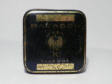 Nice MARABOU Blue Box Typewriter Ribbon Tin 1930's