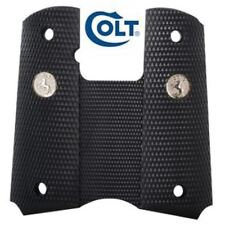 COLT 1911 GRIPS Full Wraparound SILVER MEDALLIONS Commander Gold Cup Delta Ace