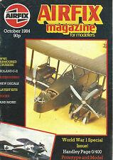 AIRFIX OCTOBER 1984 WWI ARMOURED CRUISERS / ROLAND C-II / ARIBRUSHING /WORLD WAR