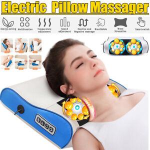 Electric Infrared Heating Neck Shoulder Massage Shiatsu Cervical Relax Pillow