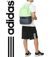 New adidas DER Backpack Black / Green  gym school college laptop rucksack