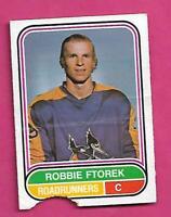 RARE 1975-76 OPC WHA # 19 ROADRUNNERS ROBBIE FTOREK ROOKIE POOR CARD(INV# D5037)