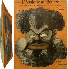 L'Assiette au beurre n°82 1902 Amiraux et généraux dessins Léal da Camara humour