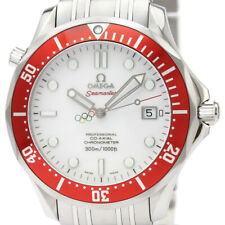 Polished OMEGA Seamaster Co-Axial Olympic Watch 212.30.41.20.04.001 BF337966