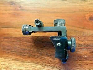 VINTAGE REDFIELD SERIES 100 M MICROMETER RECEIVER SIGHT FOR MAUSER RIFLES