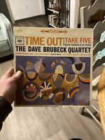 The Dave Brubeck Quartet ‎– Time Out LP. 1962 Reissue. Stereo. Pitman Press VG.