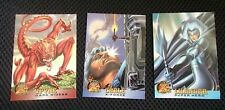 SET OF 3 1994 FLEER X-MEN COLLECTORS/TRADING CARDS