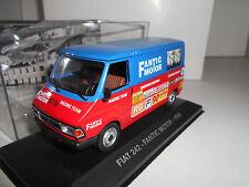 FIAT 242 FANTIC MOTOR 1980 PUBLICITARIO ITALIANO EAGLEMOSS IXO 1/43